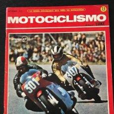 Coches y Motocicletas: MOTOCICLISMO SEPTIEMBRE 1971 - MINI MARCELINO SUPER / LAVERDA 750 SF / MOTO CROSS / KARTING. Lote 124480103