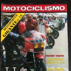 Coches y Motocicletas: MOTOCICLISMO Nº 565 - JUNIO 1978 - TILKENS / BULTACO 250 / ISERN / TOURIST TROPHY. Lote 124692011
