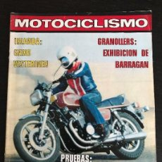Coches y Motocicletas: MOTOCICLISMO Nº 549 - FEB 1978 - YAMAHA XS 1100 / YAMAHA XT 500 / MONTESA CAPPRA VB 125 / TRIAL. Lote 124692923