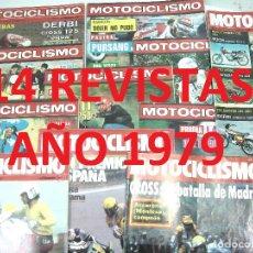 Carros e motociclos: 14X MOTOCICLISMO AÑO 1979 ¡¡M.B.ESTADO¡¡ 595.597.598.599.602.606.609.616.619.621.622.626.629.633-. Lote 124696503