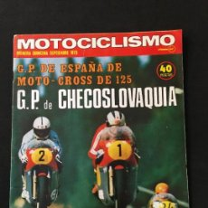 Coches y Motocicletas: REVISTA MOTOCICLISMO PRIMERA QUINCENA SEPTIEMBRE 1975 PRUEBA BMW R-75/6 Y BULTACO LOBITO 75-T. Lote 124704363