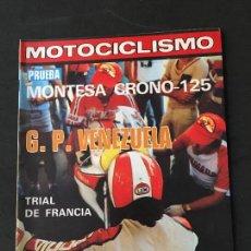 Coches y Motocicletas: REVISTA MOTOCICLISMO NUMERO 603 MARZO 1979 PRUEBA MONTESA CRONO 125. Lote 125263955