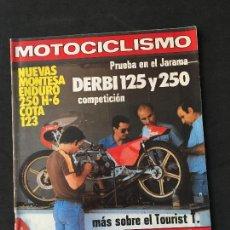 Coches y Motocicletas: REVISTA MOTOCICLISMO NUMERO 614 JUNIO 1979 PRUEBA DERBI 125 Y 250-MONTESA ENDURO. Lote 125266459