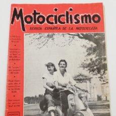 Coches y Motocicletas: REVISTA MOTOCICLISMO AÑO III, NUMERO 44 JUNIO 1953.. Lote 125411084