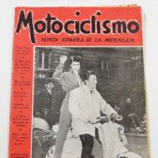 Coches y Motocicletas: REVISTA MOTOCICLISMO NUMERO 41, AÑO III, ABRIL 1953, VER SUMARIO.. Lote 125411904