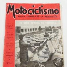 Coches y Motocicletas: REVISTA MOTOCICLISMO NUMERO 61, AÑO IV, SEGUNDA QUINCENA FEBRERO 1954, VER SUMARIO.. Lote 125412190