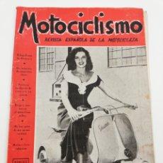 Coches y Motocicletas: REVISTA MOTOCICLISMO AÑO III, NUMERO 49, SEGUNDA QUINCENA AGOSTO 1953, VESPA, VER SUMARIO.. Lote 125412572