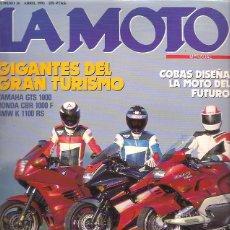 Voitures et Motocyclettes: REVISTA LA MOTO Nº 36. Lote 125934919