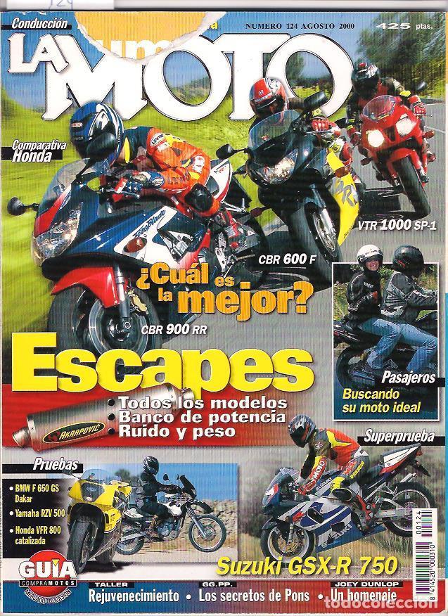 REVISTA LA MOTO Nº 124 (Coches y Motocicletas - Revistas de Motos y Motocicletas)