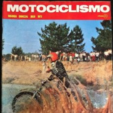 Coches y Motocicletas: MOTOCICLISMO 2ª QUINCENA - JULIO 1973 - MV 750 / GP HOLANDA / 24 HORAS MONTJUIC . Lote 126050203