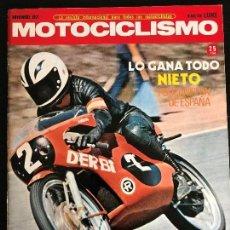 Coches y Motocicletas: MOTOCICLISMO - NOVIEMBRE 1971 - PUCH TRIVEL / DERBI 74 / CUESTA RABASSADA / MOTO CROSS. Lote 126050731
