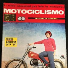 Coches y Motocicletas: MOTOCICLISMO - ENERO 1969 - MONTESA COTA 247 / DERBI 74 / MONUMENTO A TORRAS / CATALOGO ESPAÑOL. Lote 126052807