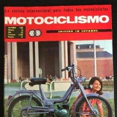 Carros e motociclos: MOTOCICLISMO - OCTUBRE 1968 - DUCATI ROLLY 48 / FABRICA TORROT / JAMATHI 50 / NOVEDADES BULTACO. Lote 126053135