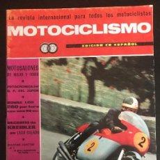 Coches y Motocicletas: MOTOCICLISMO - ENERO 1966 - MOTO SALON MILAN / GUZZI / GP JAPON . Lote 126060179