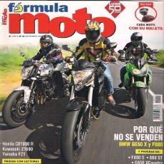Coches y Motocicletas: REVISTA FORMULA MOTO Nº 45. Lote 126090695
