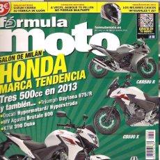 Coches y Motocicletas: REVISTA FORMULA MOTO Nº 96. Lote 126090919