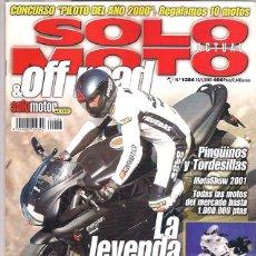 Coches y Motocicletas: SOLO MOTO Nº 1284. Lote 126244107