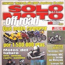 Coches y Motocicletas: SOLO MOTO Nº 1285. Lote 126244139