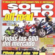 Coches y Motocicletas: SOLO MOTO Nº 1286. Lote 126244191
