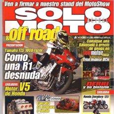 Coches y Motocicletas: SOLO MOTO Nº 1287. Lote 126244239
