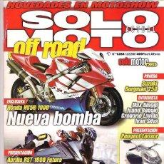 Coches y Motocicletas: SOLO MOTO Nº 1288. Lote 126244303
