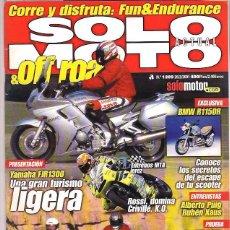 Coches y Motocicletas: SOLO MOTO Nº 1289. Lote 126244351