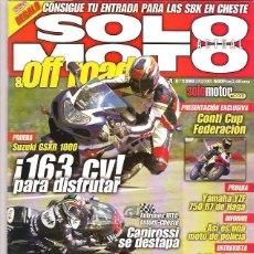 Coches y Motocicletas: SOLO MOTO Nº 1290. Lote 126244399