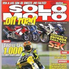 Coches y Motocicletas: SOLO MOTO Nº 1291. Lote 126244443