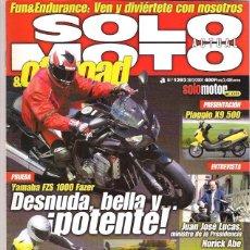 Coches y Motocicletas: SOLO MOTO Nº 1293. Lote 126244523