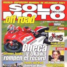 Coches y Motocicletas: SOLO MOTO Nº 1294. Lote 126244583