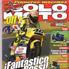 Coches y Motocicletas: SOLO MOTO Nº 1296. Lote 126244655