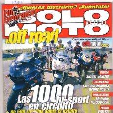 Coches y Motocicletas: SOLO MOTO Nº 1297. Lote 126244691