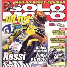 Coches y Motocicletas: SOLO MOTO Nº 1298. Lote 126244723