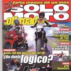 Coches y Motocicletas: SOLO MOTO Nº 1299. Lote 126244755