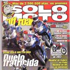 Coches y Motocicletas: SOLO MOTO Nº 1301. Lote 126244959
