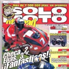 Coches y Motocicletas: SOLO MOTO Nº 1302. Lote 126245043
