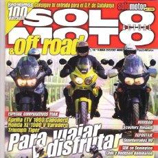 Coches y Motocicletas: SOLO MOTO Nº 1303. Lote 126245091