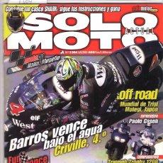 Coches y Motocicletas: SOLO MOTO Nº 1304. Lote 126245147