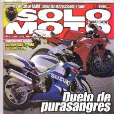 Coches y Motocicletas: SOLO MOTO Nº 1305. Lote 126245191