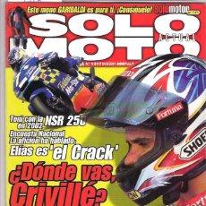 Coches y Motocicletas: SOLO MOTO Nº 1317. Lote 126245279