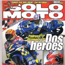 Coches y Motocicletas: SOLO MOTO Nº 1322. Lote 126245307