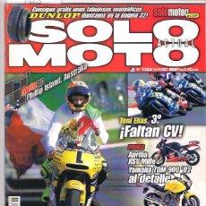 Coches y Motocicletas: SOLO MOTO Nº 1323. Lote 126245323