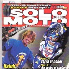 Coches y Motocicletas: SOLO MOTO Nº 1324. Lote 126245347