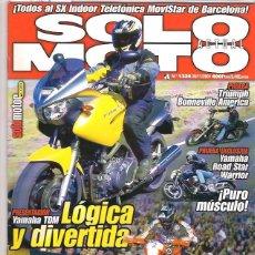 Coches y Motocicletas: SOLO MOTO Nº 1328. Lote 126245435