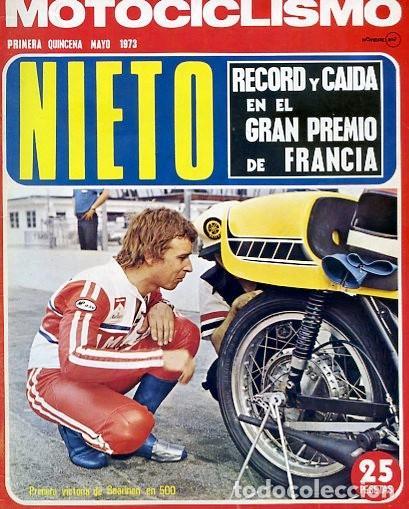 REVISTA MOTOCICLISMO Nº PRIMERA QUINCENA MAYO 1973 SANGLAS 400 (Coches y Motocicletas - Revistas de Motos y Motocicletas)