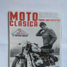 Coches y Motocicletas: REVISTA MOTO CLASICA Nº 52 INDIAN DUCATI TRIUMPH MONTESA IMPALA ROA MOTOGIRO MORINI. Lote 127571000