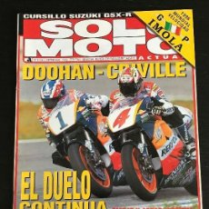 Coches y Motocicletas: SOLO MOTO ACTUAL - Nº 1056 - SEP 1996 - GUZZI CALIFORNIA 1100 / SIDE SAPHYR GOLDWING . Lote 127824351