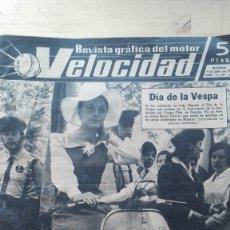 Coches y Motocicletas: REVISTA GRAFICA DEL MOTOR VELOCIDAD. AÑO V. Nº. 147. 1964. DIA DE LA VESPA.. Lote 128161743