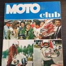 Coches y Motocicletas: REVISTA EDITADA POR EL REAL MOTO CLUB DE CATALUÑA MOTOCLUB Nº 21. Lote 128232035