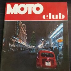 Coches y Motocicletas: REVISTA EDITADA POR EL REAL MOTO CLUB DE CATALUÑA MOTOCLUB Nº 16. Lote 128232171